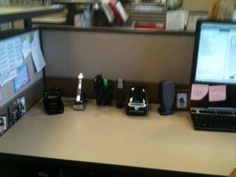 Laura Catalino Paperless Desk